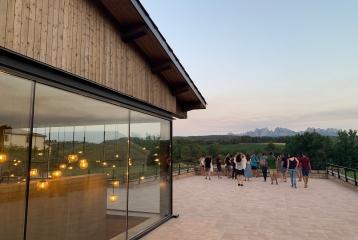 Heretat Oller del Mas - Visita y vistas de la montaña de Montserrat
