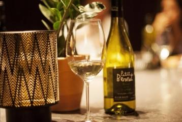 Heretat Oller del Mas - Copa de vino blanco Petit Bernat