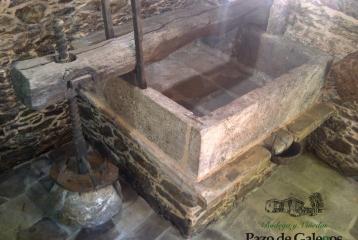 Pazo de Galegos - Lagar antiguo