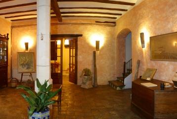 Hotel Castell de Gimenelles - Hall de entrada