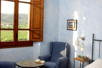 Hotel Castell de Gimenelles - Habitación Blava