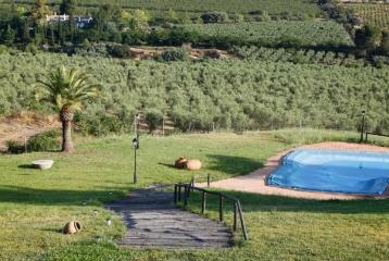 Finca Santa Elena - Acceso piscina