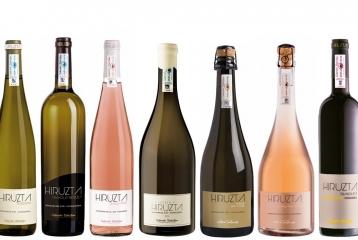 Hirutza Bodega - Gama de productos de Hiruzta Bodega Txakoli & vinos espumosos