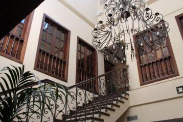 Hospedería del Zenete - Detalle escalera