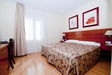 Hotel Palacios Alfaro - HABITACION DOBLE