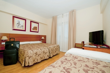 Hotel Palacios Alfaro - HABITACION TRIPLE
