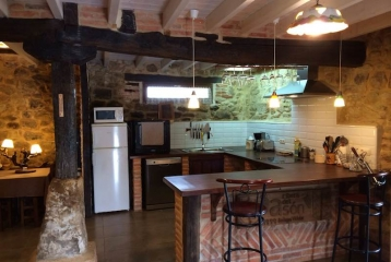 Bodega y Casa Rural Vidular - Cocina
