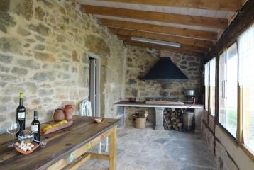 Bodega y Casa Rural Vidular - Porche
