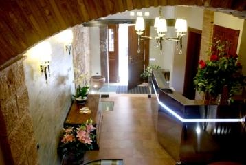 Hotel Castillo Alquézar - Recepción hotel