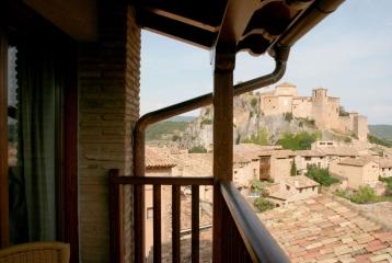 Hotel Castillo Alquézar - Vistas desde habitación