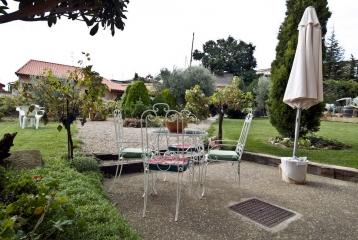 Casa Rural El Mesón - Jardín