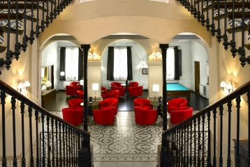 Hotel Sercotel Villa Engracia - Recepción