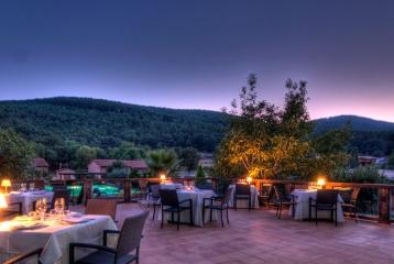 Hotel La Ermita de los Llanos - Terraza