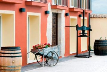 Finca San Agustín - Detalle patio interior