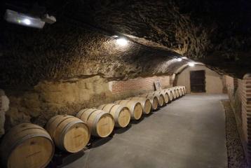 Bodega Campo Eliseo - La casona del siglo XVIII esconde bajo sus entrañas algo realmente mágico: tres galerías escavadas a más de 10 metros de profundidad.