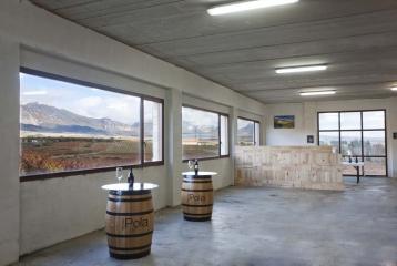 Bodegas López Oria - Incluso desde dentro de la bodega, miramos al viñedo