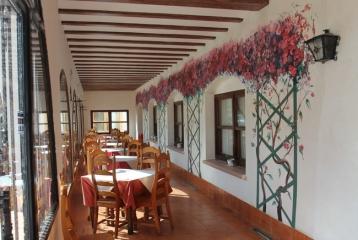 Bodega Vitis Natura  - Terraza Cubierta Hotel Setos(Motilla del Palancar)-Enopack de Alojamiento