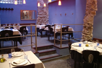 Hotel Cal LLop - Vista del Restaurante Cal Llop