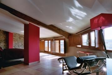 Hotel Cal LLop - Suite en la buhardilla del hotel