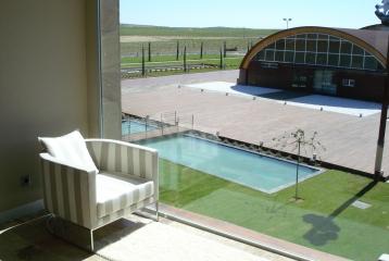 Bodega y Hotel Pago del Vicario - Vista habitación