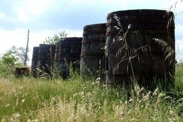 Hacienda El Ternero - Viejas barricas