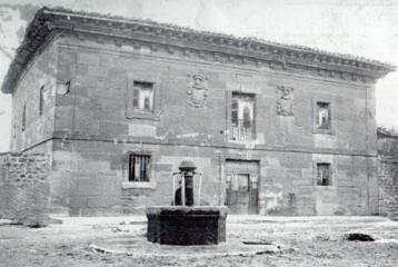 Hotel Villa de Ábalos - Aspecto de la casa antes de su restauración