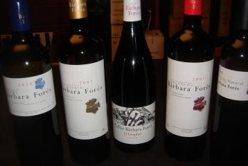 Celler Bàrbara Forés - Nuestros vinos