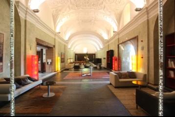 Balneario de Olmedo - Hall de entrada