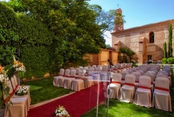 Balneario de Olmedo - Celebración boda civil