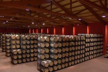 Bodega - Museo del Vino Emina Ribera - Barricas