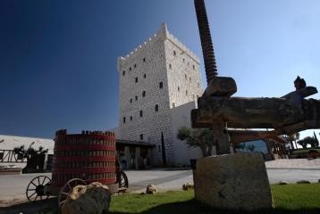 Vista del hotel Château Pago de Cirsus