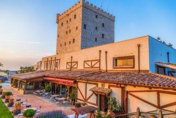 Bodega-Hotel Pago de Cirsus - Terraza