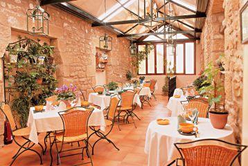 Hotel Restaurante Cosme Palacio - Jardín de invierno. Donde se sirven los desayunos