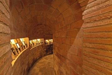 Museu del vi Els Cups - Els Cups- lagares intercomunicados por pasadizos
