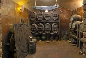 Museu del vi Els Cups - Els Cups-zona de tonelería