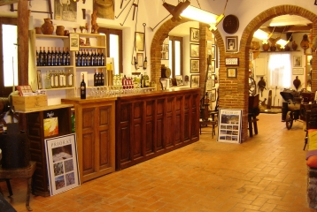 Museu del vi Els Cups - Zona de degustación