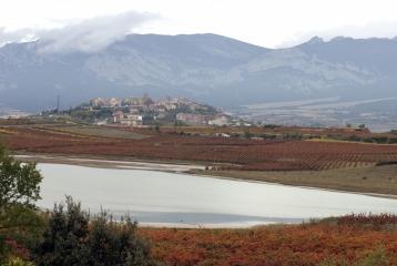 Bodegas Solar Viejo - Vista de Laguardia