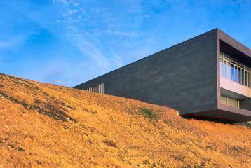 Bodegas Regalía de Ollauri-Marqués de Terán - Espectacular vista de un lateral de la bodega.