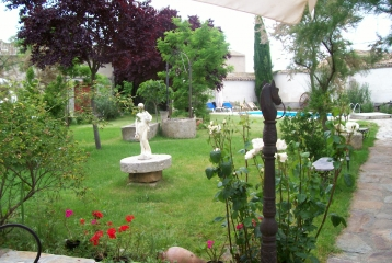 Quinta del Canal - jardín
