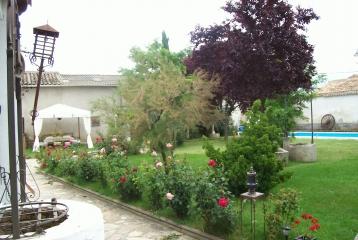 Quinta del Canal - Jardín y piscina