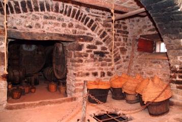 Abadal - Interior de la masía