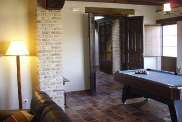 Hotel Pago de Trascasas - Sala de billar