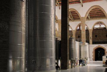Alella Vinícola Can Jonc - Depositos de fermentación de blancos.
