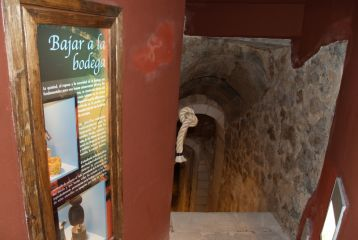 CIAVIN. C.Inter.Arquitectura del Vino - Acceso a la Bodega de las Ánimas