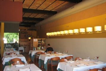 Zona del restaurante.