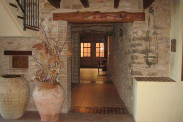 Casa Rural Mas del Estellers - Pasillo hacia zona común