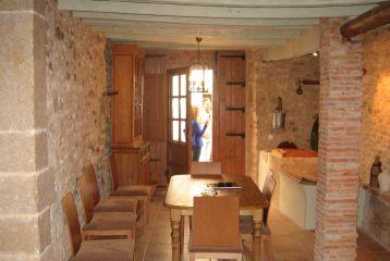 Casa Rural Mas del Estellers - Salón del apartamento