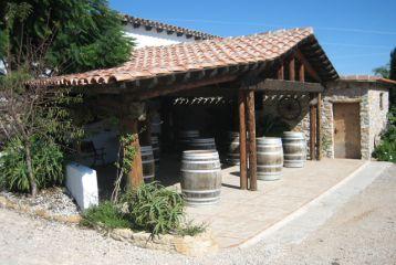 Centro de Interpretación del Vino y la Tonelería Artesana - Porche para catas