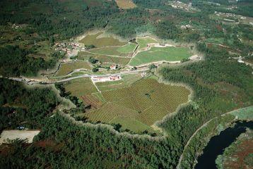 Marqués de Vizhoja - Vista aérea de los terrenos del Pazo