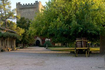 Patio de labranza del Castillo.